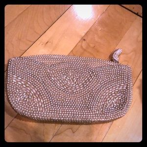 Beautiful pearl vintage clutch